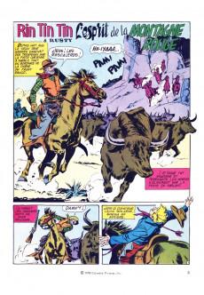 Extrait de Rin Tin Tin (Poster) -5- L'esprit de la montagne rouge