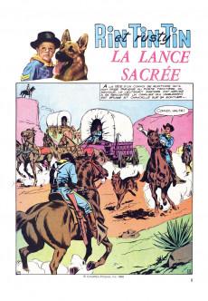 Extrait de Rin Tin Tin (Poster) -11- La lance sacrée