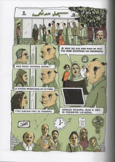 Extrait de La nouvelle bande dessinée arabe - Short