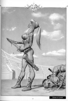 Extrait de Illustrations de charme -1- Reines Guerrières