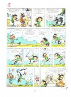 Extrait de Gaston -13b1991- Lagaffe mérite des baffes