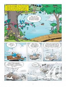 Extrait de Les schtroumpfs -36- Les Schtroumpfs et le dragon du lac