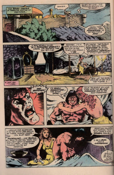 Extrait de Conan the King (1984) -22- The black dragons