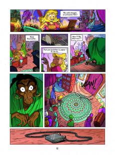 Extrait de Namasté -3- Les larmes de la sorcière Asuri