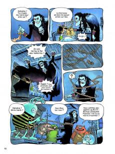 Extrait de Archibald (Kim) -4- Vampire & Cie