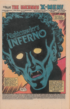 Extrait de Uncanny X-Men (The) (1963) -AN04- Nightcrawler's Inferno