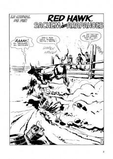 Extrait de Le cheval de fer -1- Red Hawk sachem des Arapahoes