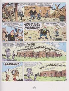 Extrait de Les tuniques Bleues -1d1995- Un chariot dans l'Ouest