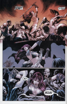 Extrait de Red Sonja: Vacant Shell (2007) -1VC- Red Sonja: Vacant shell