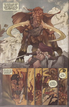 Extrait de Legends of Red Sonja (2013) -2- Legends of Red Sonja Book Two of Five