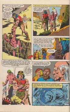 Extrait de Kull the Conqueror Vol.2 (Marvel comics - 1982) -1- The power and the kingdom