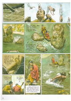 Extrait de Le moine fou -INT2a09- Poussière de vie
