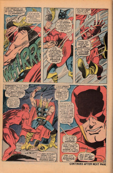 Extrait de Daredevil (1964) -30- If ther should be a thunder god!