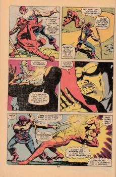 Extrait de Daredevil (1964) -99- The mark of Hawkeye