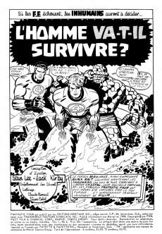 Extrait de Fantastic Four (Éditions Héritage) -4- L'homme va-t-il survivre?