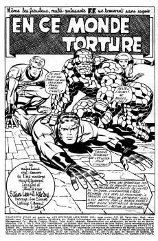 Extrait de Fantastic Four (Éditions Héritage) -5- ...en ce monde torturé !