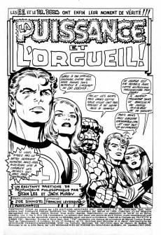Extrait de Fantastic Four (Éditions Héritage) -6- La puissance et l'orgueil!