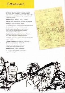 Extrait de Tintin -24- Tintin et l'alph-art
