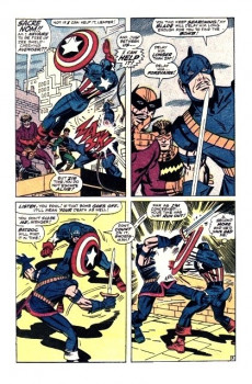 Extrait de Captain America (1968) -105- In the name of batroc!