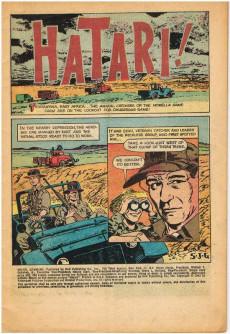 Extrait de Movie Classics (Dell - 1962) -340- Hatari!