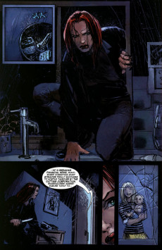 Extrait de Black Widow : The things they say about her (Marvel - 2005) -2- Part 2: What do you really deep down want?
