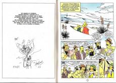 Extrait de Tintin - Pastiches, parodies & pirates -a2018- Tintin et les Égoutiers