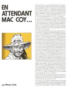 Extrait de Mac Coy (Rombaldi) -2- Le triomphe de Mc Coy - Wanted Mc Coy - La mort blanche - Trafiquants de scalps