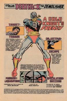 Extrait de Astonishing tales Vol.1 (Marvel - 1970) -25UK- A cold knight frezy