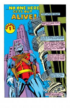 Extrait de Astonishing tales Vol.1 (Marvel - 1970) -28- Five to one, Deathlok...five in one...