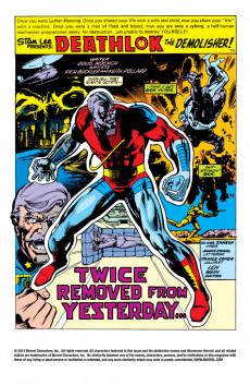 Extrait de Astonishing tales Vol.1 (Marvel - 1970) -31- Yesterday Dies Today!