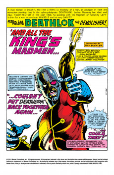 Extrait de Astonishing tales Vol.1 (Marvel - 1970) -34- The Man Who Controlled the World!