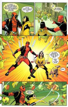 Extrait de All-New Wolverine (2016) -31- Honey Badger & Deadpool