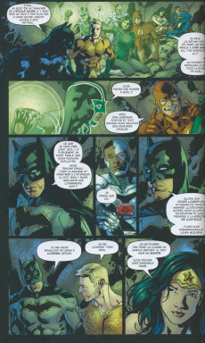 Extrait de Justice League Rebirth -3- Intemporel