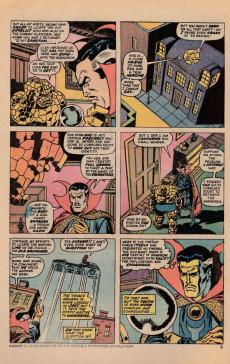 Extrait de Marvel Two-In-One (1974) -7- Name that doom