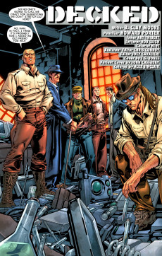 Extrait de Doc Savage Vol.3 (DC Comics - 2010) -5- Every Hand Again