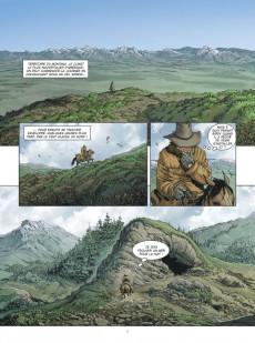 Extrait de Montana - Une histoire complète de Tex - Montana