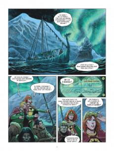 Extrait de Thorgal (Les mondes de) - La Jeunesse de Thorgal -6- Le drakkar des glaces