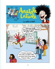 Extrait de Anatole Latuile -11- Trop la classe !