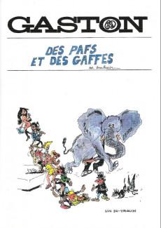 Extrait de Gaston (Hors-série) -Pira18- Des pafs et des gaffes
