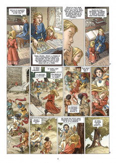 Extrait de Les reines de sang - Jeanne, la mâle reine -1- Volume 1