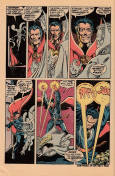 Extrait de Marvel Premiere (1972) -3- While the world spins mad