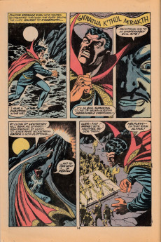 Extrait de Marvel Premiere (1972) -6- The shambler from the sea