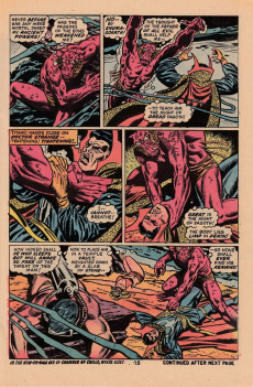 Extrait de Marvel Premiere (1972) -7- THe shadows of the starstone