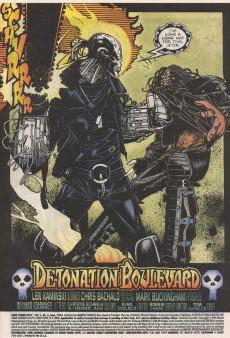 Extrait de Ghost Rider 2099 (Marvel comics - 1994) -2- Detonation boulevard