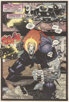 Extrait de Ghost Rider 2099 (Marvel comics - 1994) -3- Search and destroy