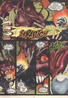 Extrait de Ghost Rider 2099 (Marvel comics - 1994) -4- Uncontrollable urge