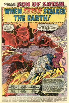 Extrait de Marvel Spotlight Vol 1 (1971) -13- When Satan stalked the earth