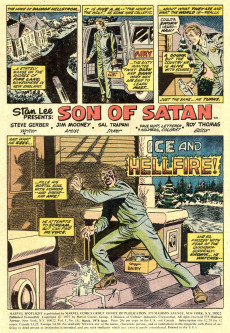 Extrait de Marvel Spotlight Vol 1 (1971) -14- Ice and hellfire