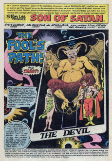 Extrait de Marvel Spotlight Vol 1 (1971) -20- The fool's path