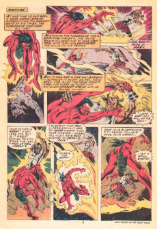 Extrait de Son of Satan (The) (Marvel comics - 1975) -3- Demon's head